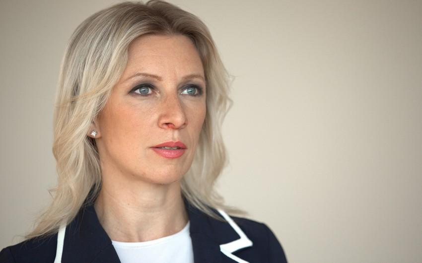 Mariya Zaxarova: Azərbaycan və Ermənistan cəmiyyətlərinə dinc kompromis axtarmağın alternativsizliyini aşılamaq lazımdır