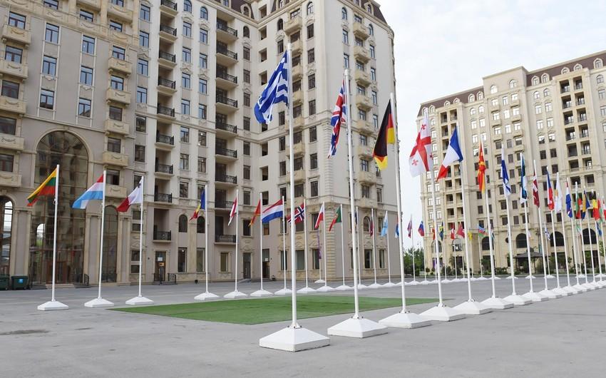 Atletlər Kəndində yerləşdirilmiş 34 ölkənin Milli Olimpiya Komitəsinin üzvləri ilə görüş keçirilib