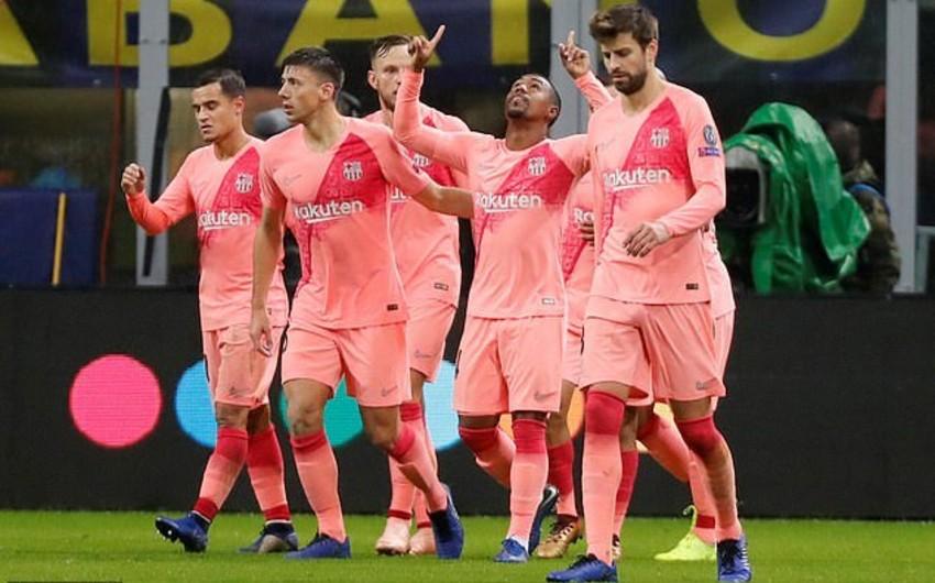 Barselona ÇL-in 1/8 finalına vəsiqəni təmin edən ilk komanda olub