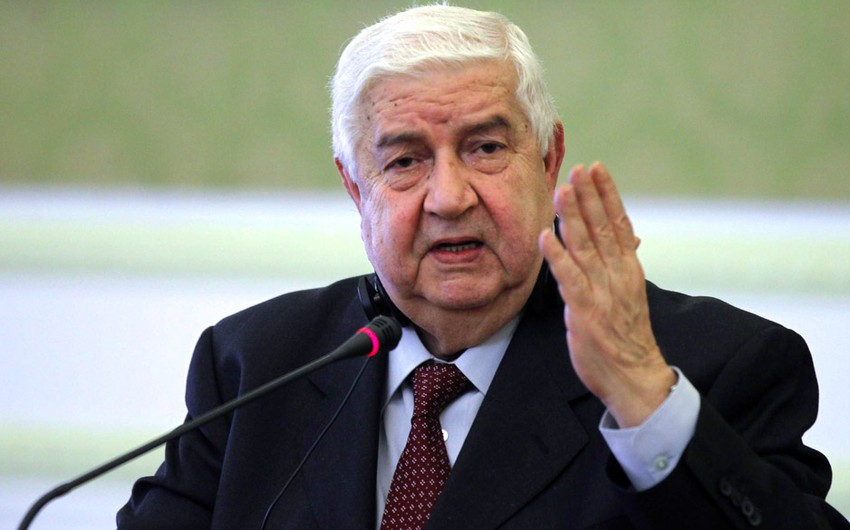 Syrian FM: Damascus ready to enter Geneva peace talks