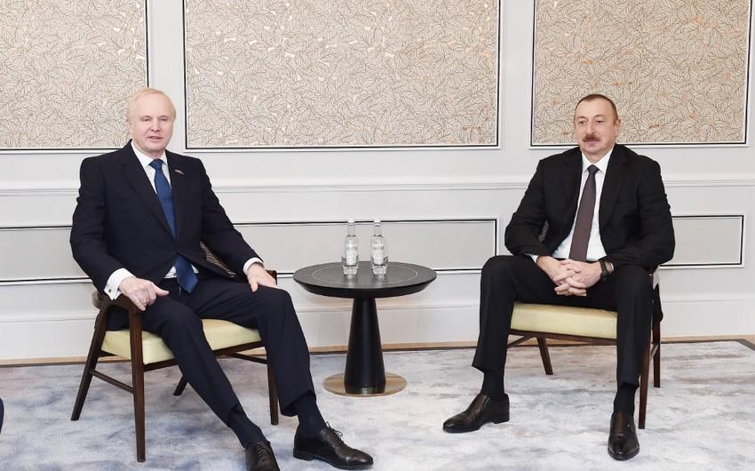 Начался визит президента Азербайджана Ильхама Алиева в Великобританию