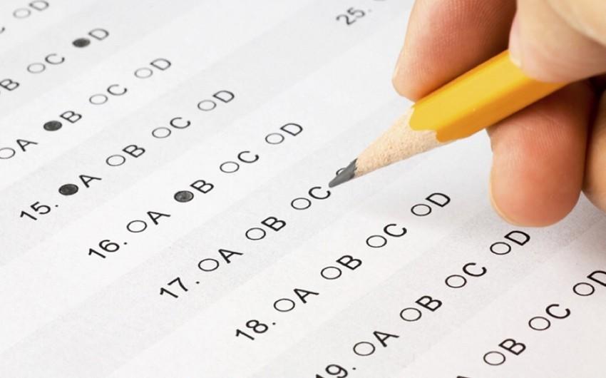 Magistraturaya qəbul imtahanının I mərhələsi üzrə keçirilən sınaq imtahanının nəticələri açıqlanıb