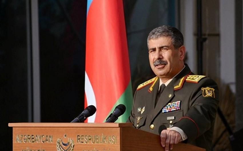 Azerbaijani Defense Minister leaves for Saudi Arabia