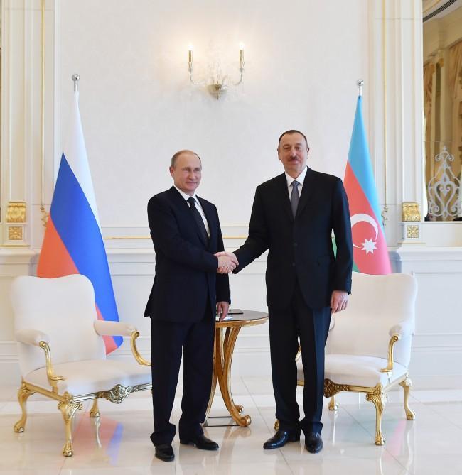 Azərbaycan Prezidenti Vladimir Putinə telefonla zəng edib