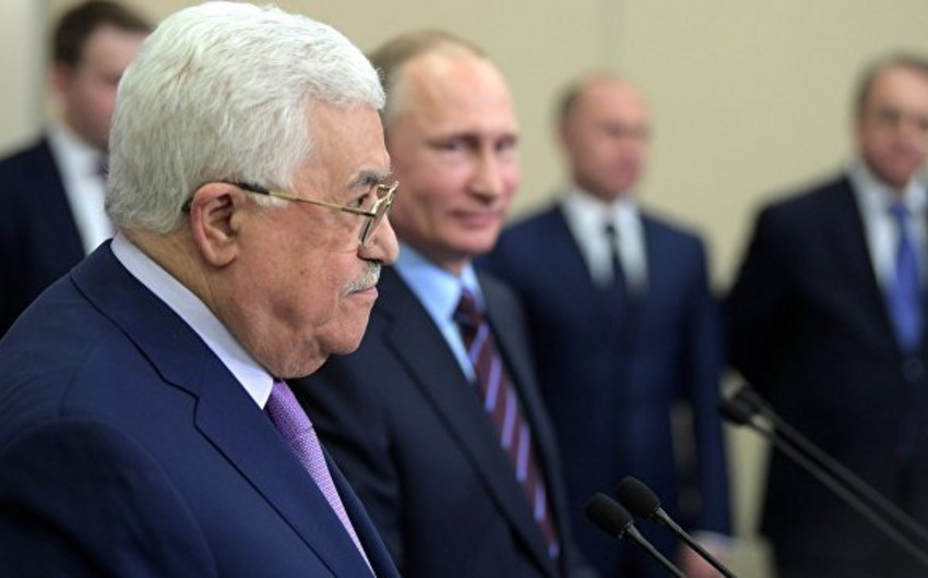 Mahmud Abbas: Fələstin ABŞ-la istənilən formada əməkdaşlıqdan imtina edir