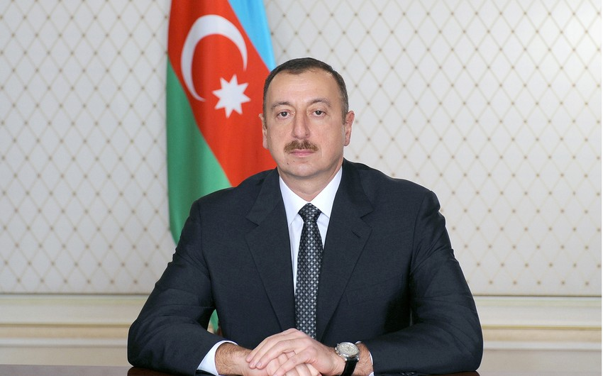 Ilham Aliyev expresses his condolences to Korean counterpart