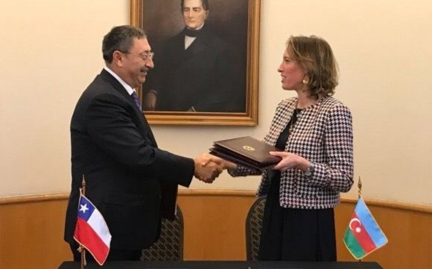 Azerbaijan and Chile abolished visa regime for holders of diplomatic passports