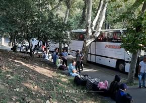 Gürcüstandan daha 200 nəfər Azərbaycana təxliyə edilir