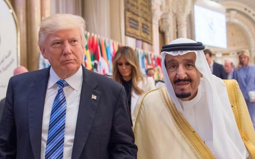 ABŞ prezidenti Səudiyyə Ərəbistanı kralı ilə enerji bazarını müzakirə edib