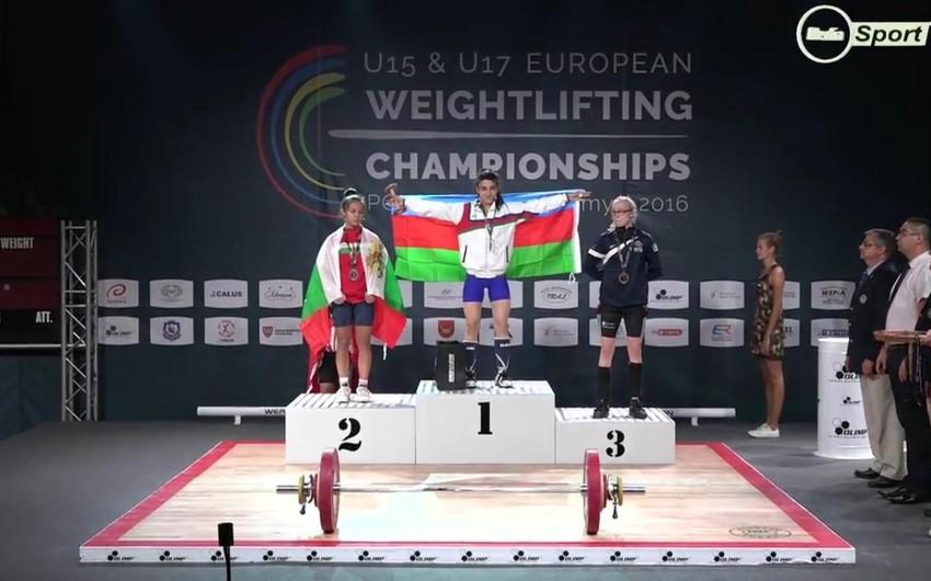 Azərbaycanın iki ağır atleti Avropa çempionatında qızıl medal qazanıb - FOTO