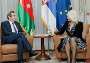 Азербайджан и Сербия обсудили вопросы подписания меморандума в области энергетики
