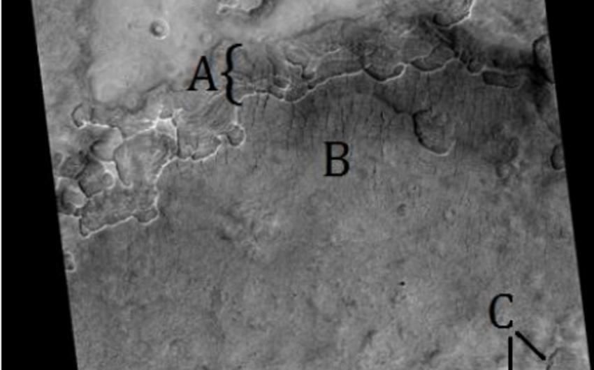 Marsda Xəzər dənizi ölçüsündə yeraltı dəniz aşkarlanıb