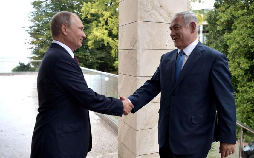 Netanyahu Rusiyaya işgüzar səfər edəcək