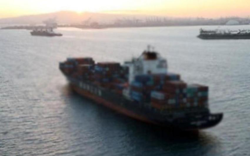 FHN: İrana məxsus yük gəmisinin heyət üzvünün axtarışlarına helikopter və gəmi cəlb olunub