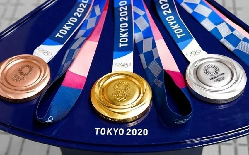 Tokio-2020: Çin zirvədə, ABŞ 2-ci pilləyə yüksəlib - SİYAHI