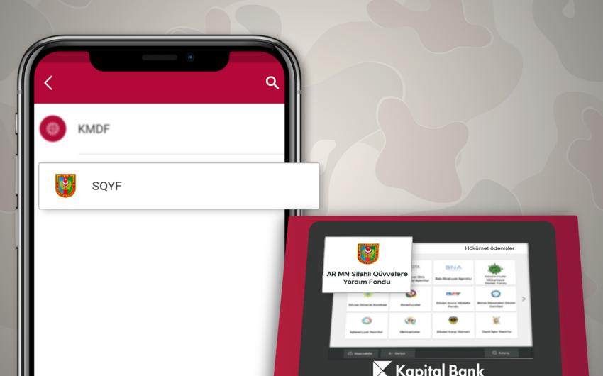 """""""BirBank"""" vasitəsilə Silahlı Qüvvələrə yardım etmək mümkün oldu"""