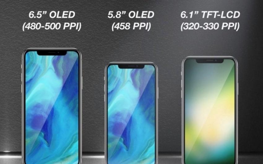Apple üç yeni smartfon modeli buraxmağı planlaşdırır
