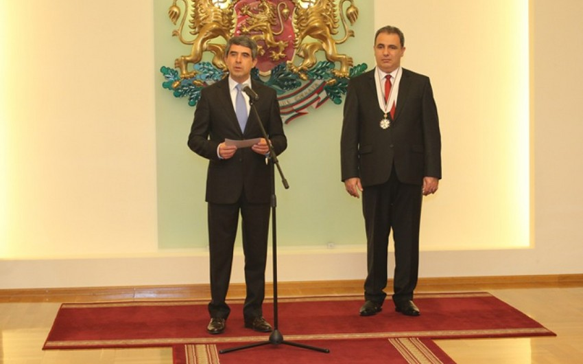 """Prezident Rosen Plevneliyev: """"Azərbaycan Bolqarıstan üçün çox vacib ölkədir"""""""