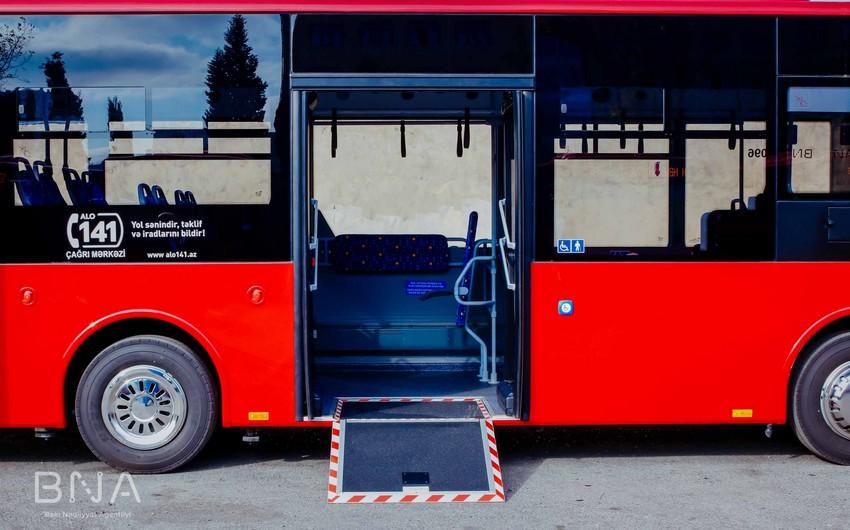 """BNA rəsmisi: """"Uşaq, əlil arabaları üçün avtobusda imkanlar olmalıdır"""""""
