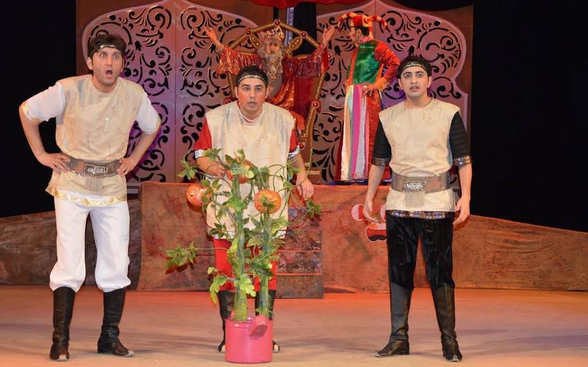 Gənc Tamaşaçılar Teatrı premyeraya hazırlaşır