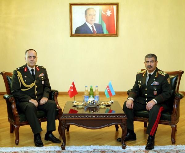 Zakir Hasanov awards Turkey's military attaché  to Azerbaijan