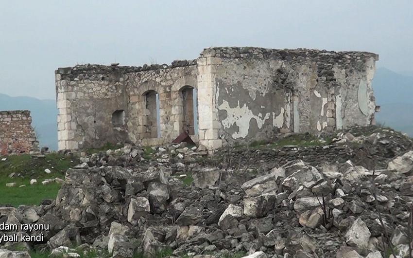 Ağdamın Saybalı kəndi