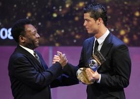 Пеле поздравил Роналду, побившего его рекорд