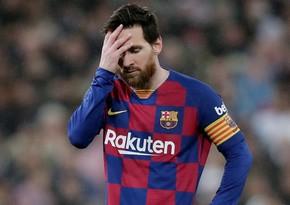 Messi PSJ-yə transferi ətrafında yaranan səs-küydən narazıdır