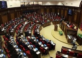 Ermənistanın yeni parlamentinin ilk iclası başlayıb