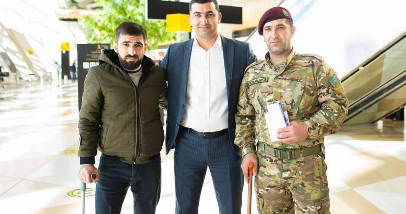 Daha 4 qazi müalicə üçün Türkiyəyə göndərilib