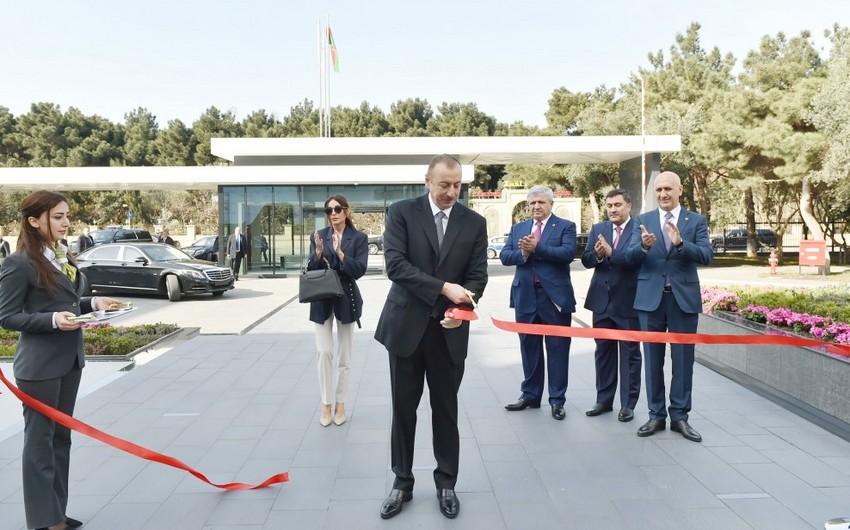 Prezident İlham Əliyev Bona Dea Beynəlxalq Hospitalının açılış mərasimində iştirak edib - YENİLƏNİB