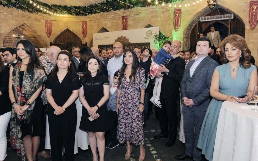 Лейла Алиева приняла участие в презентации телевизионного проекта 7 чудес Азербайджана - ФОТО