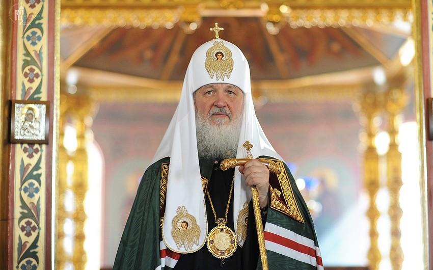 Patriarx Kirill: Azərbaycan çoxəsrlik dinlərarası əməkdaşlıq və mehriban qonşuluq ənənələri ilə tanınır