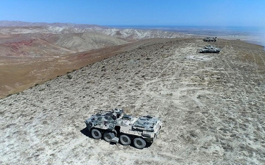 Another stage of Azerbaijani-Turkish Joint Large-Scale Tactical Exercises completed