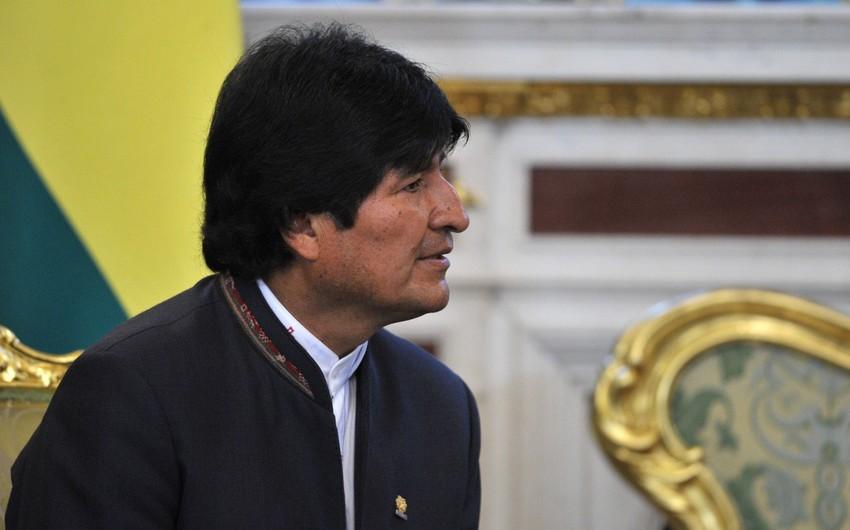 Boliviya prezidenti Evo Morales xəstəxanaya yerləşdirilib