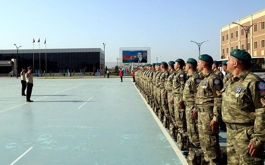 Group of Azerbaijani peacekeepers returned from Afghanistan