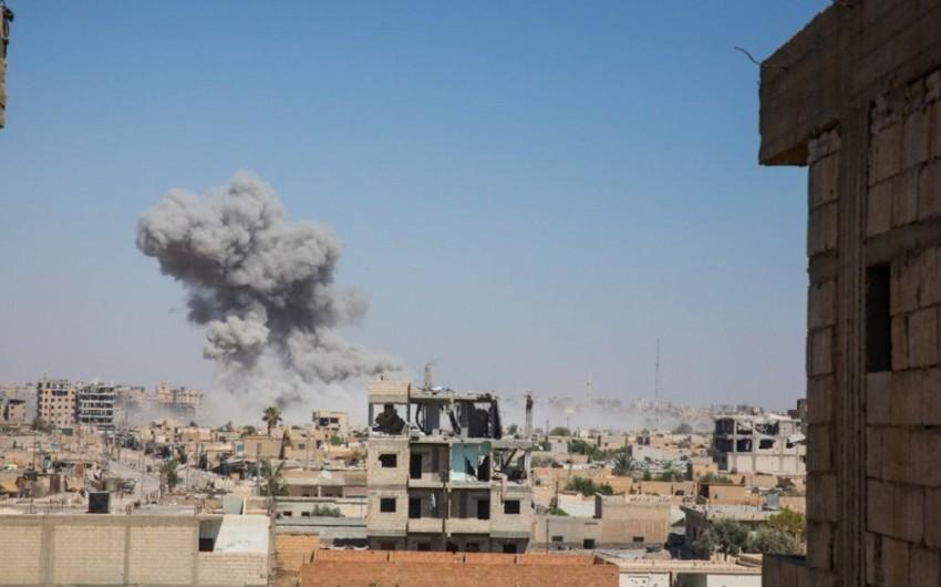 İŞİD-in paytaxt elan etdiyi Rəqqa şəhəri terrorçulardan tam azad olunub