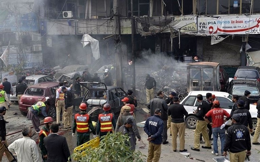 Pakistanda partlayış nəticəsində ölənlərin sayı 93-ə çatıb - YENİLƏNİB-2