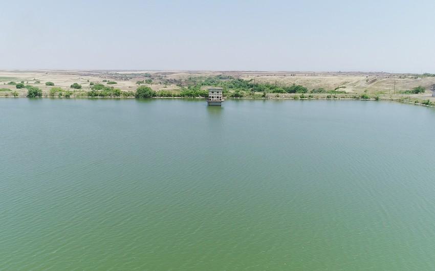 President Ilham Aliyev visits Ashaghi Kondalanchay reservoir in Fuzuli district