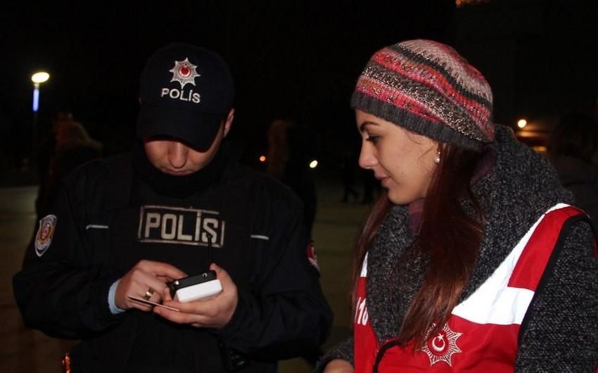 İstanbul polisi irimiqyaslı əməliyyat keçirib - FOTO