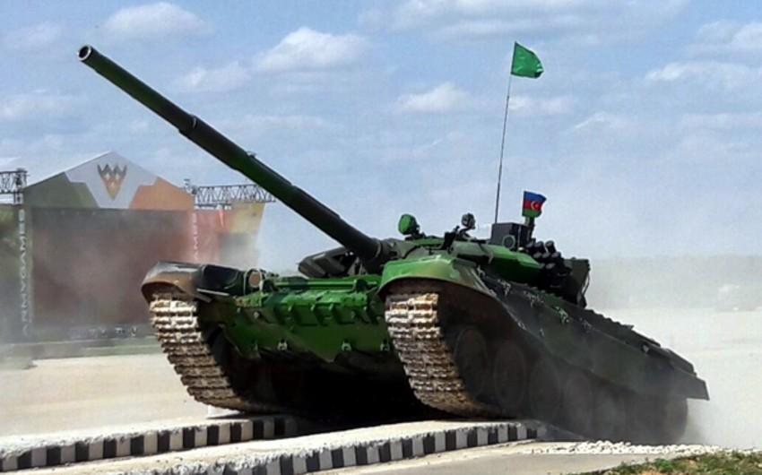 Azərbaycan tankçıları hərbçilərin beynəlxalq yarışlarında uğurla çıxış edib
