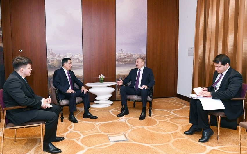 President meets with Secretary General of Shanghai Cooperation Organization