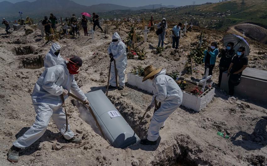 Meksikada koronavirus qurbanlarının sayı 46 mini ötdü