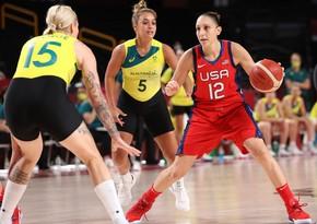Tokio-2020: Qadınların basketbol turnirində yarımfinalçılar bəlli olub