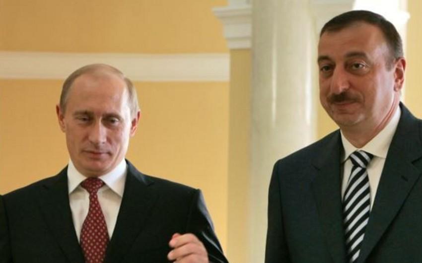 Azərbaycan və Rusiya prezidentləri arasında telefon danışığı olub