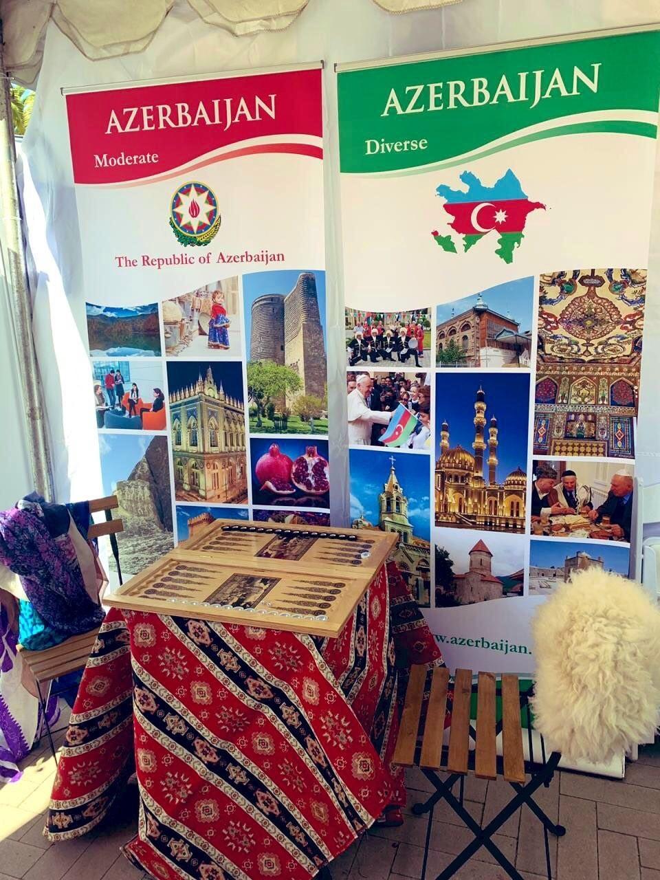 Azərbaycan Kaliforniyada keçirilən beynəlxalq mədəniyyət festivalında iştirak edib
