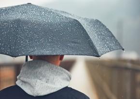 Rain forecasted tomorrow in Azerbaijan