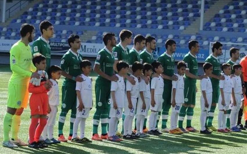 'Khazar-Lankaran's first team suspends the games