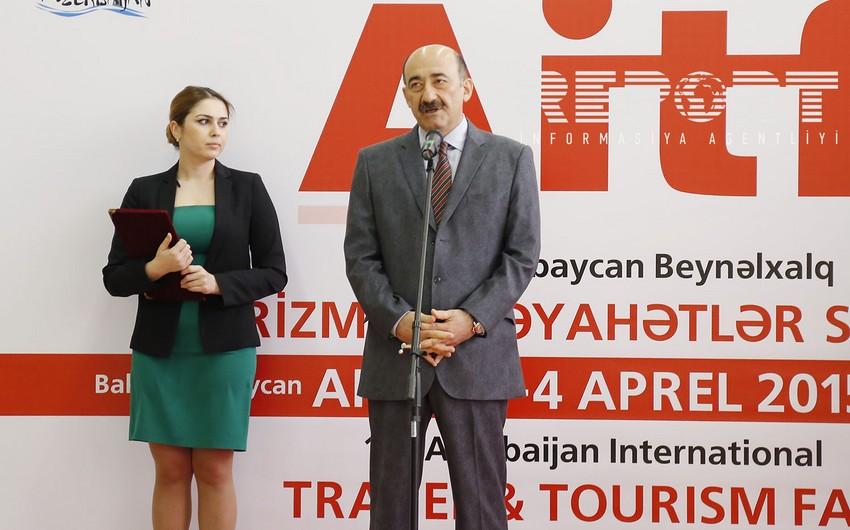 Bakıda beynəlxalq turizm sərgisi başlayıb - FOTO