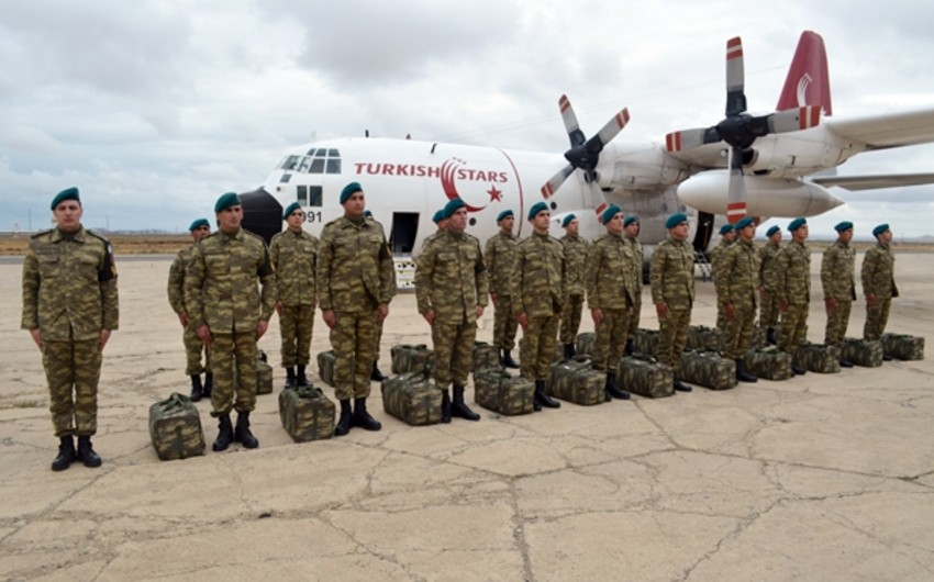Another group of Azerbaijani peacekeepers sent to Afghanistan